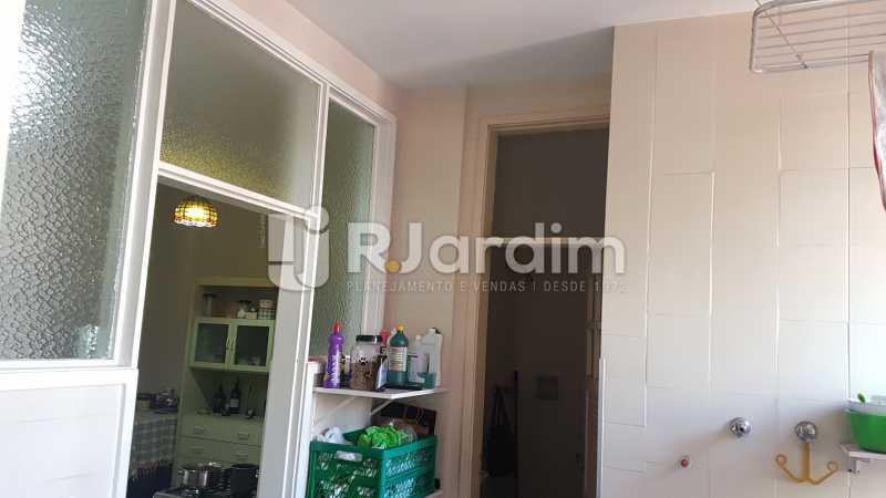 Àrea Serviço - Apartamento À Venda - Lagoa - Rio de Janeiro - RJ - LAAP40730 - 23