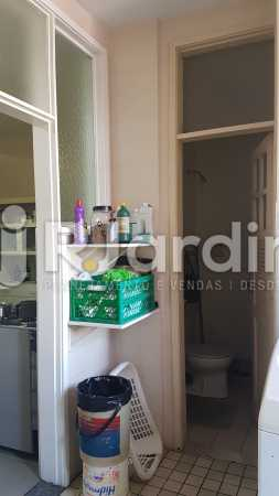 Àrea Serviço - Apartamento À Venda - Lagoa - Rio de Janeiro - RJ - LAAP40730 - 24