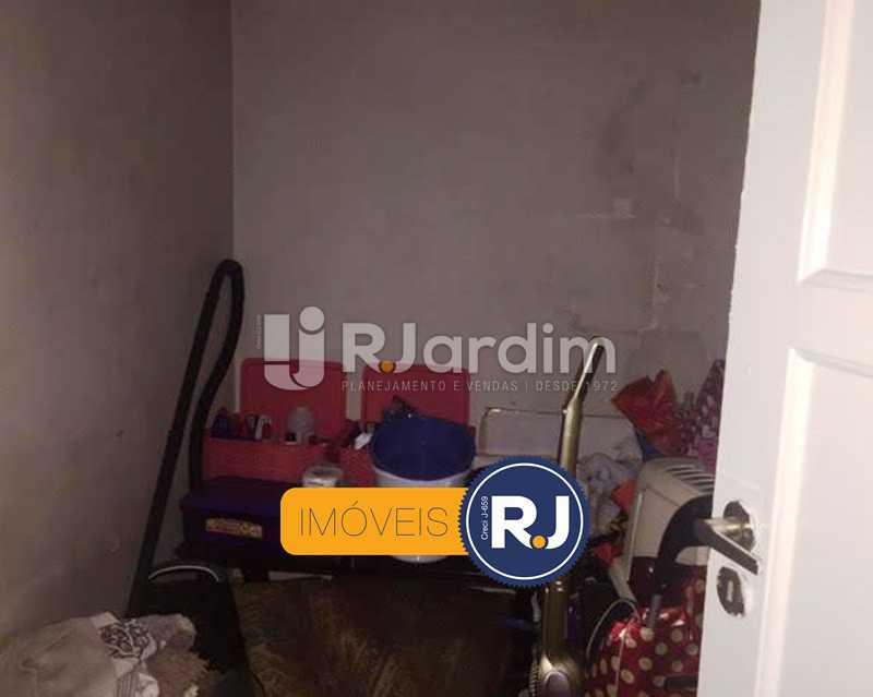 quarto de empregada - Compra Venda Avaliação Apartamento Copacabana 3 Quartos - LAAP31924 - 15