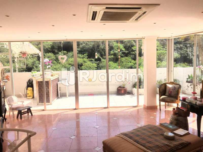 SALÃO SUPERIOR - Imóveis Aluguel Cobertura Copacabana 2 Quartos - LACO20093 - 14