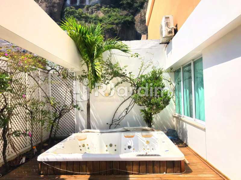 DECK PISCINA HYDRO - Imóveis Aluguel Cobertura Copacabana 2 Quartos - LACO20093 - 1