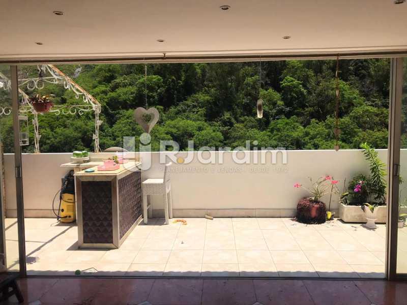 VARANDA PISO 2 - Imóveis Aluguel Cobertura Copacabana 2 Quartos - LACO20093 - 15