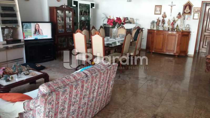 4 Sala de jantar 1° piso  - Compra Venda Imóveis Cobertura Tijuca 4 Quartos - LACO40168 - 5