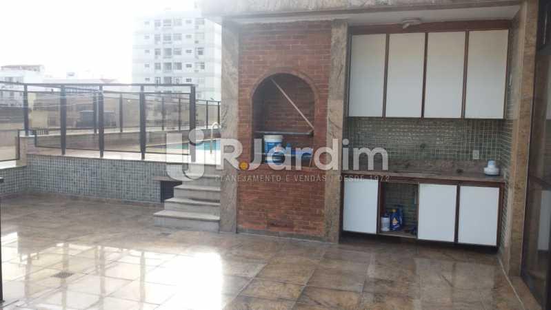 10 Churrasqueira 2° piso  - Compra Venda Imóveis Cobertura Tijuca 4 Quartos - LACO40168 - 11