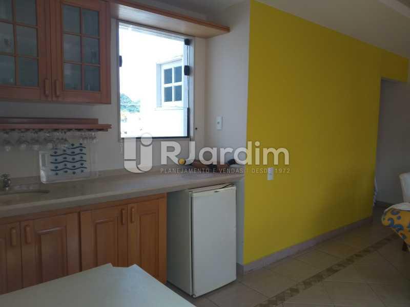 cozinha de apoio / terraço  - Compra Venda Avaliação Imóveis Cobertura Ipanema 4 quartos - LACO40162 - 11