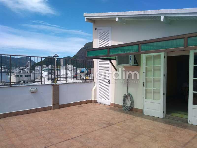 terraço - Compra Venda Avaliação Imóveis Cobertura Ipanema 4 quartos - LACO40162 - 5