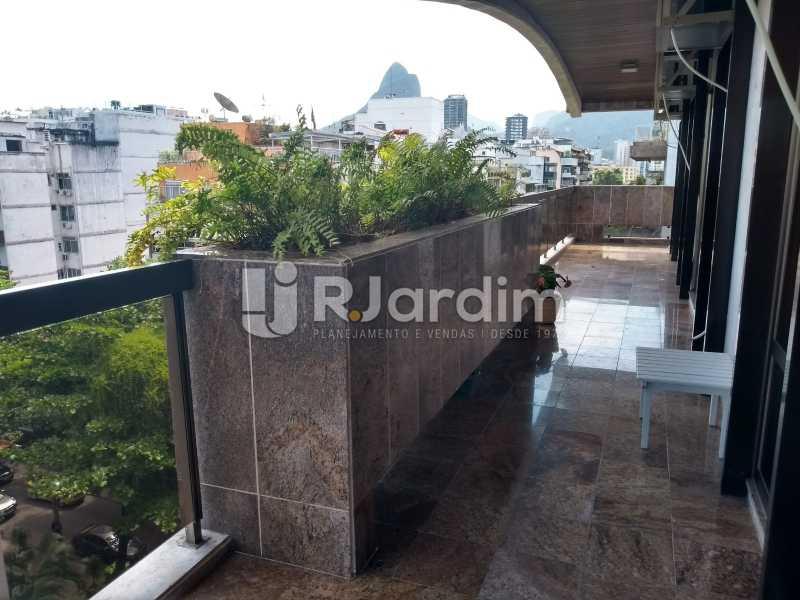 varanda / primeiro piso  - Compra Venda Avaliação Imóveis Cobertura Ipanema 4 quartos - LACO40162 - 15