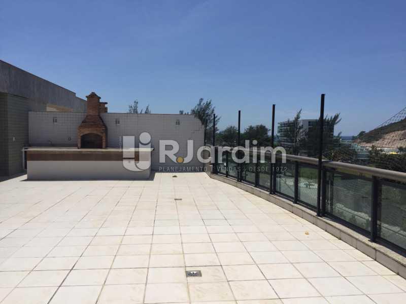 Terraço Churrasqueira  - Compra Venda Avaliação Imóveis Cobertura Recreio dos Bandeirantes 4 Quartos - LACO40164 - 4