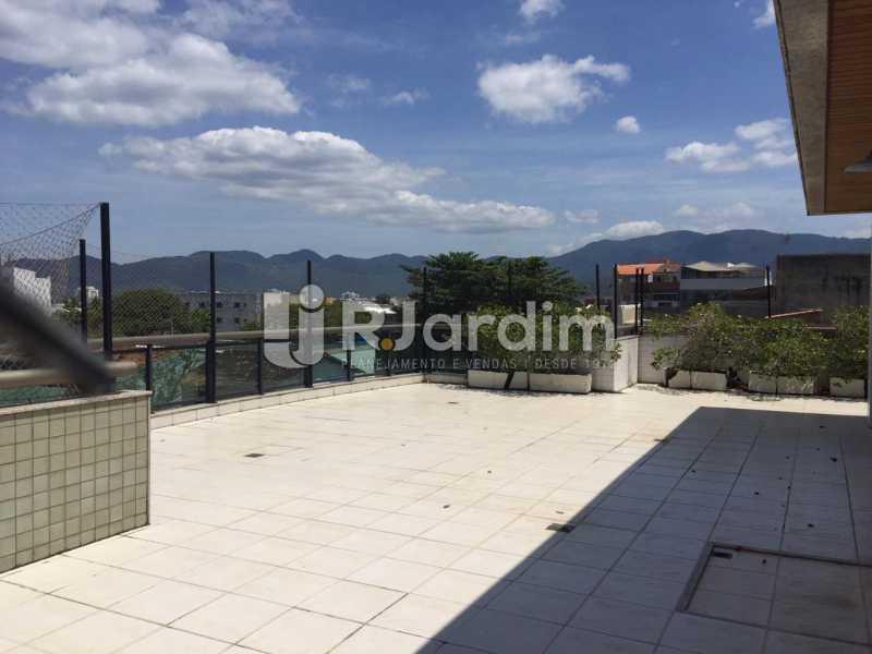 Terraço  - Compra Venda Avaliação Imóveis Cobertura Recreio dos Bandeirantes 4 Quartos - LACO40164 - 3