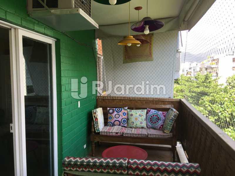 Varanda - Compra Venda Avaliação Imóveis Apartamento Ipanema 3 Quartos - LAAP31935 - 4