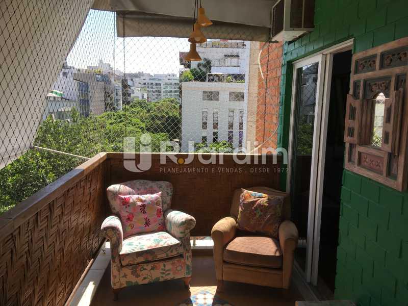 Varanda - Compra Venda Avaliação Imóveis Apartamento Ipanema 3 Quartos - LAAP31935 - 5
