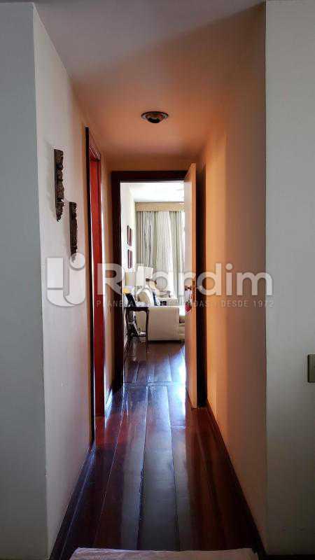 Corredor - Imóveis Compra Venda Apartamento São Conrado 4 Quartos - LAAP40732 - 6