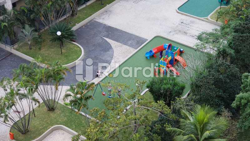 Foto de lazer infantil - Imóveis Compra Venda Apartamento São Conrado 4 Quartos - LAAP40732 - 9