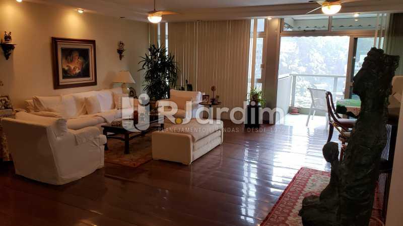 Sala com vista varanda - Imóveis Compra Venda Apartamento São Conrado 4 Quartos - LAAP40732 - 18