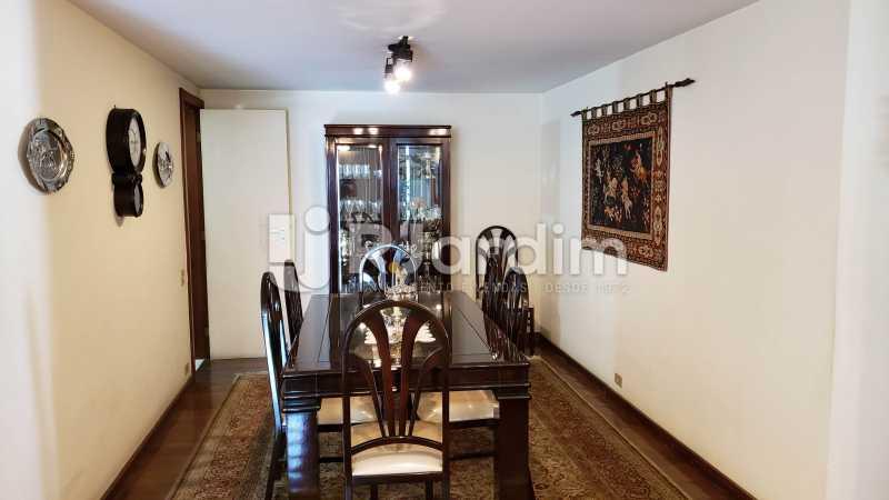 Sala de jantar - Imóveis Compra Venda Apartamento São Conrado 4 Quartos - LAAP40732 - 19