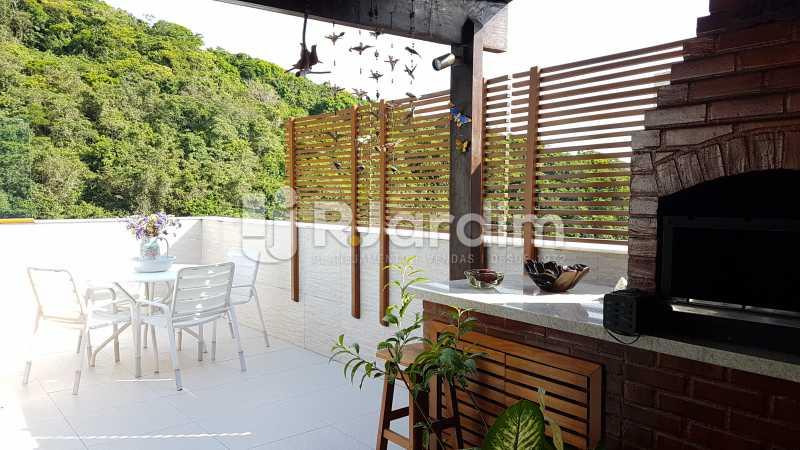 Churrasqueira - Cobertura À Venda - São Conrado - Rio de Janeiro - RJ - LACO30261 - 25