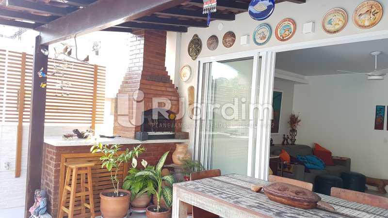 Churrasqueira - Cobertura À Venda - São Conrado - Rio de Janeiro - RJ - LACO30261 - 21