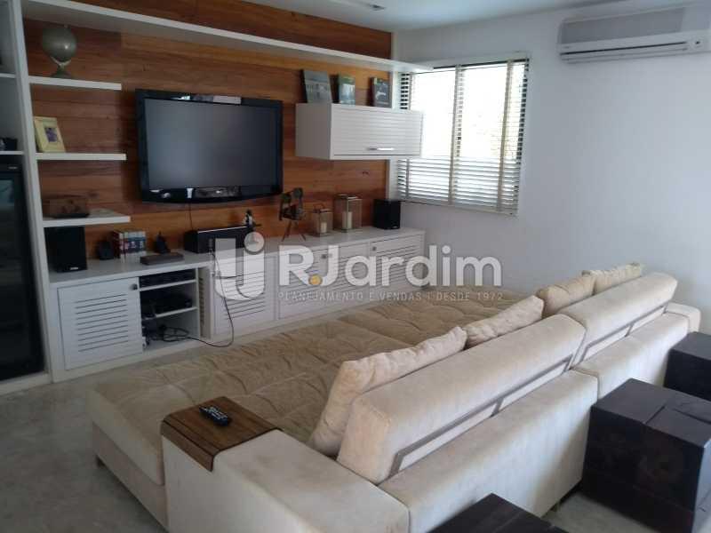 sala de  estar / 2do piso  - Compra Venda Avaliação Imóveis Cobertura Leblon 4 Quartos - LACO40166 - 13
