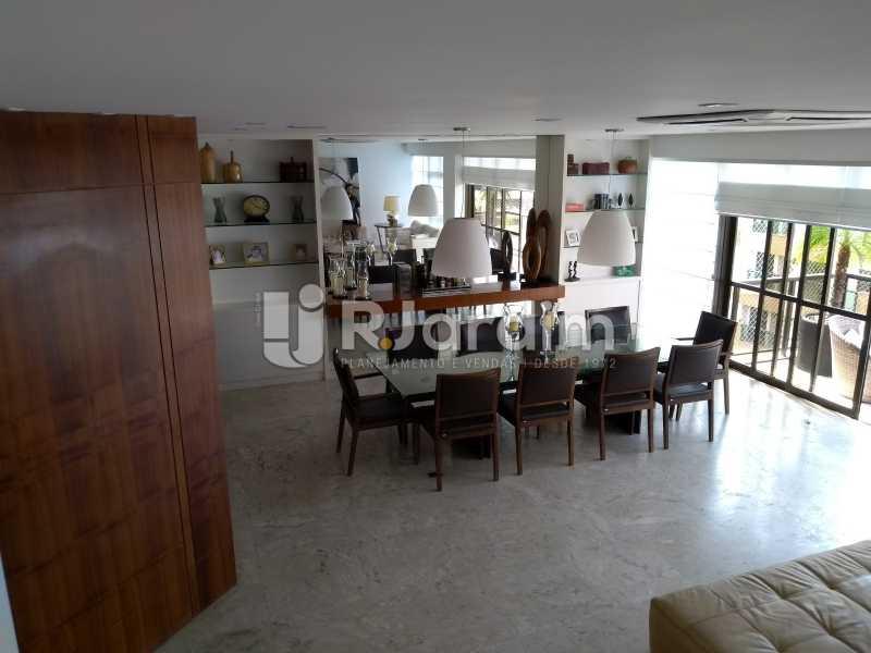 sala de jantar - Compra Venda Avaliação Imóveis Cobertura Leblon 4 Quartos - LACO40166 - 12