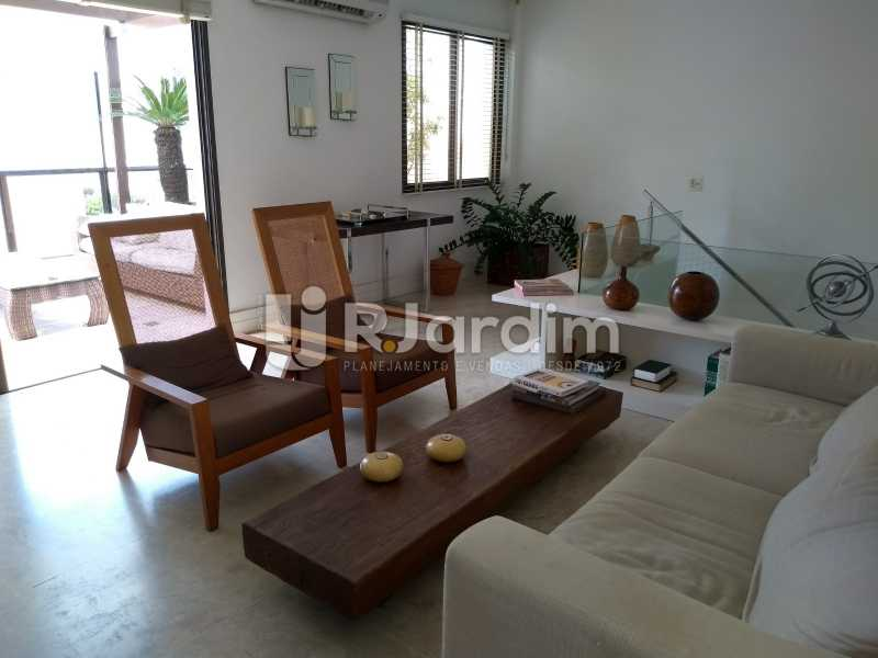 sala de estar /2do piso  - Compra Venda Avaliação Imóveis Cobertura Leblon 4 Quartos - LACO40166 - 23