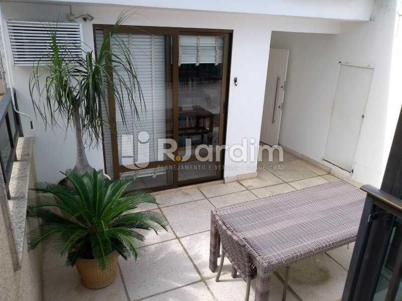 terraço/ escritório - Compra Venda Avaliação Imóveis Cobertura Leblon 4 Quartos - LACO40166 - 27