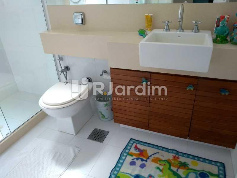 banheiro - Compra Venda Avaliação Imóveis Cobertura Leblon 4 Quartos - LACO40166 - 20