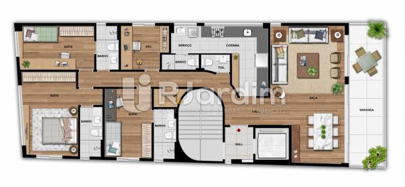 QUINTAS 292 - Apartamento À Venda - Jardim Botânico - Rio de Janeiro - RJ - LAAP31941 - 10