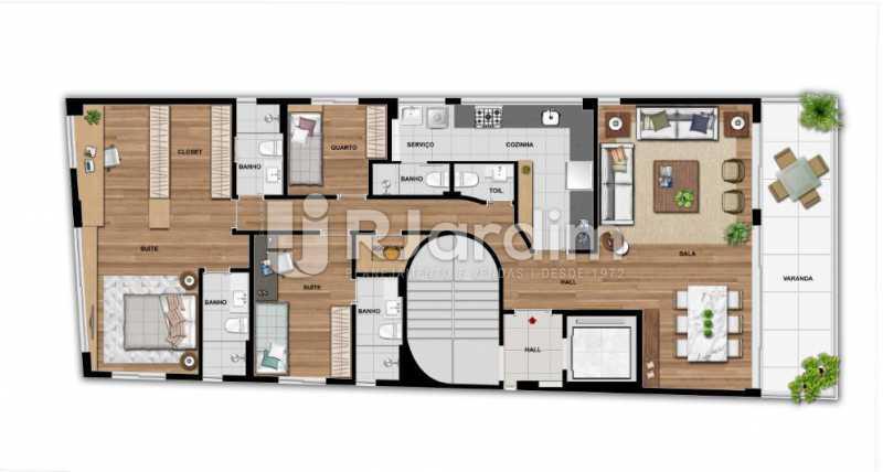 QUINTAS 292 - Apartamento À Venda - Jardim Botânico - Rio de Janeiro - RJ - LAAP31941 - 11