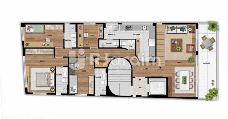 QUINTAS 292 - Apartamento À Venda - Jardim Botânico - Rio de Janeiro - RJ - LAAP31941 - 12