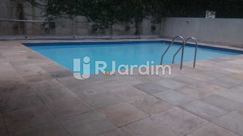Piscina - Compra Venda Avaliação Imóveis Apartamento Lagoa 2 Quartos - LAAP21371 - 11