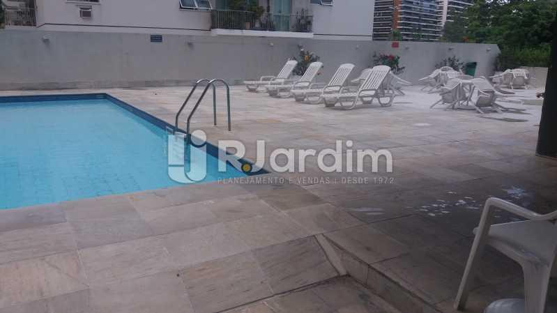 Piscina - Compra Venda Avaliação Imóveis Apartamento Lagoa 2 Quartos - LAAP21371 - 14