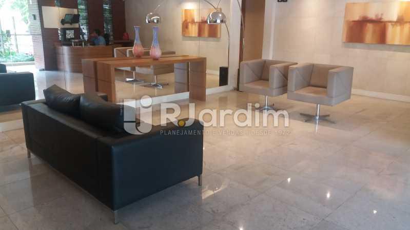 Hall social - Compra Venda Avaliação Imóveis Apartamento Lagoa 2 Quartos - LAAP21371 - 3