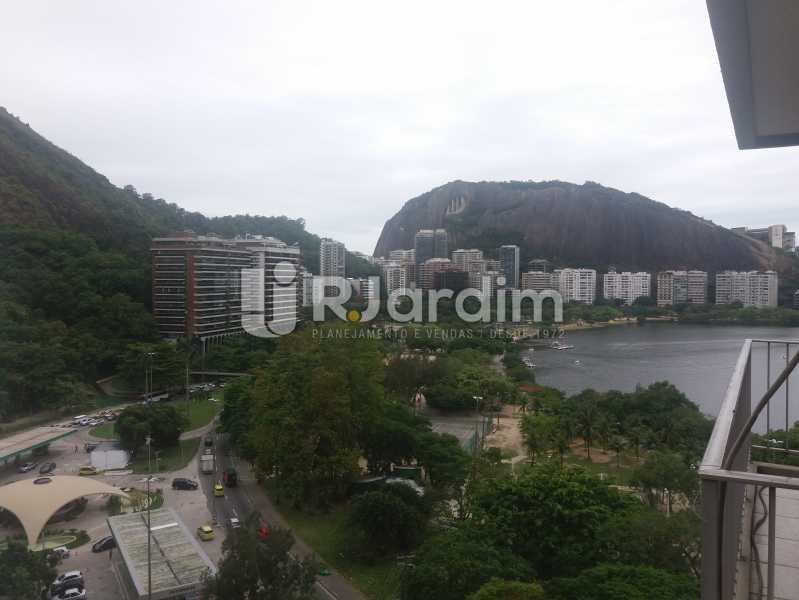 Vista da Lagoa Rodrigo  - Compra Venda Avaliação Imóveis Apartamento Lagoa 2 Quartos - LAAP21371 - 3