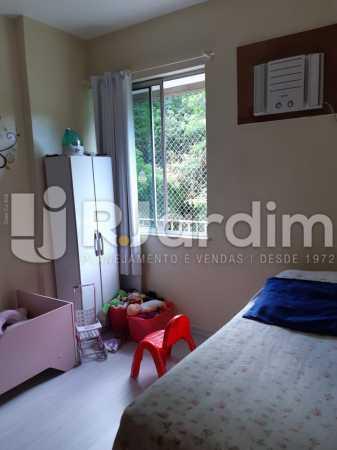 Quarto - Compra Venda Avaliação Imóveis Apartamento Lagoa 2 Quartos - LAAP21371 - 16