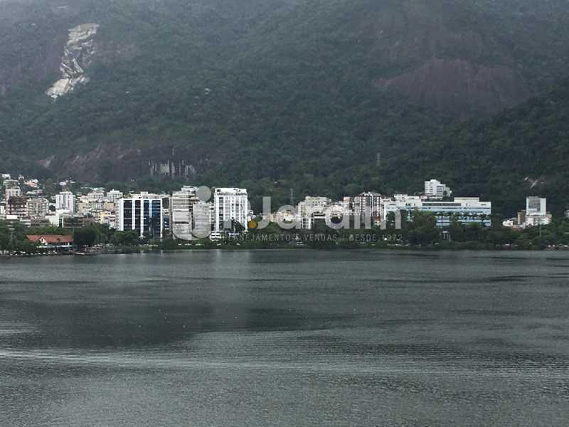 Vista frontal - Apartamento À Venda - Lagoa - Rio de Janeiro - RJ - LAAP31945 - 1