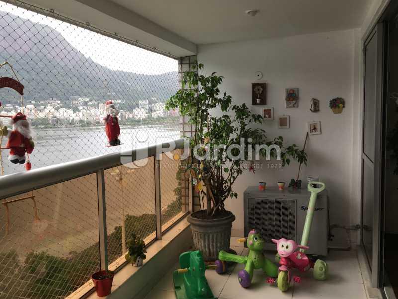 Varanda - Apartamento À Venda - Lagoa - Rio de Janeiro - RJ - LAAP31945 - 4