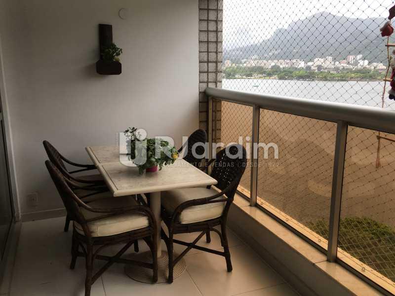 Varanda - Apartamento À Venda - Lagoa - Rio de Janeiro - RJ - LAAP31945 - 5