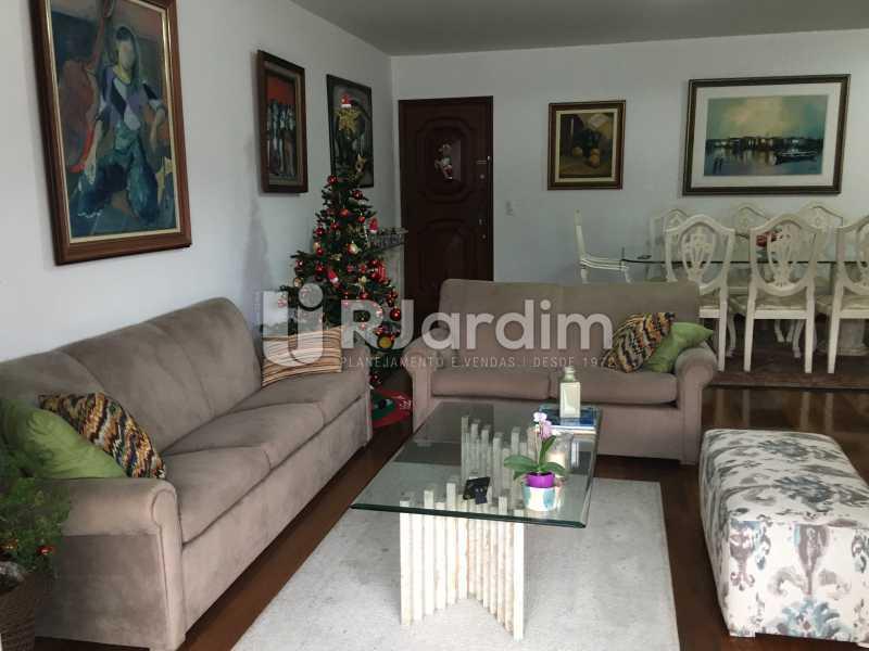 Sala de estar - Apartamento À Venda - Lagoa - Rio de Janeiro - RJ - LAAP31945 - 6