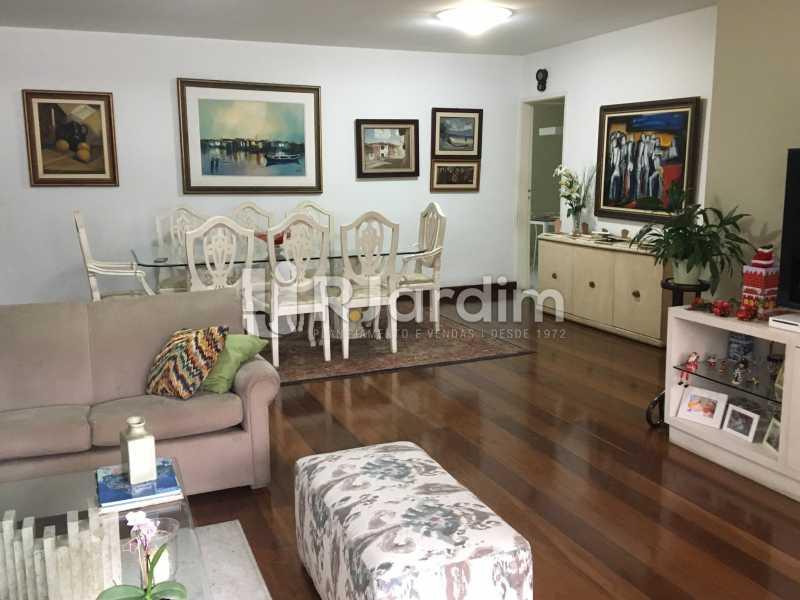 sala de jantar e estar - Apartamento À Venda - Lagoa - Rio de Janeiro - RJ - LAAP31945 - 7