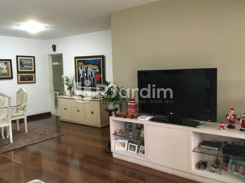 Sala  - Apartamento À Venda - Lagoa - Rio de Janeiro - RJ - LAAP31945 - 8