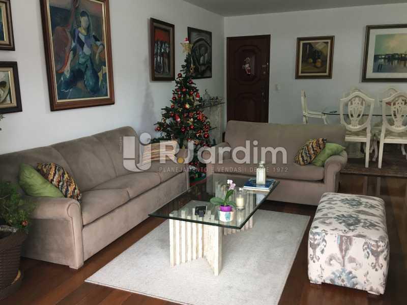 Sala de estar - Apartamento À Venda - Lagoa - Rio de Janeiro - RJ - LAAP31945 - 10