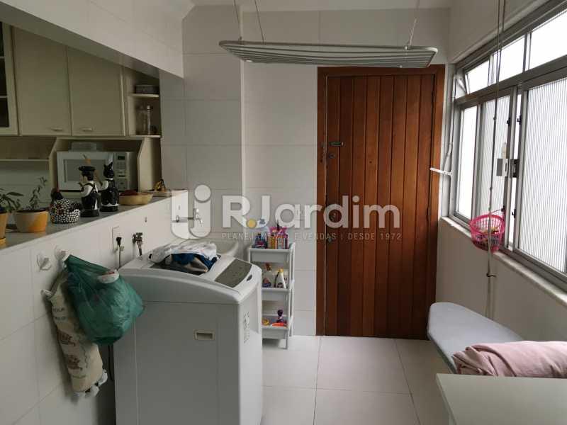 Área de serviços - Apartamento À Venda - Lagoa - Rio de Janeiro - RJ - LAAP31945 - 21