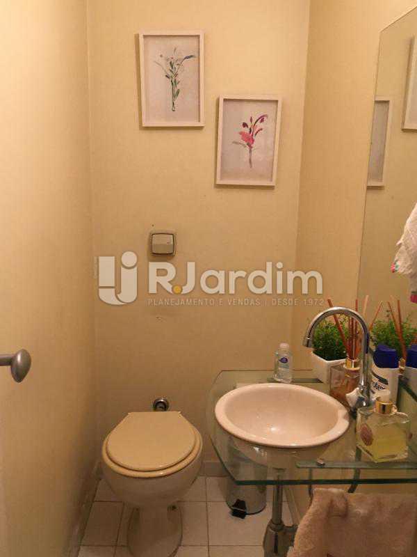 Lavabo - Apartamento À Venda - Lagoa - Rio de Janeiro - RJ - LAAP31945 - 22