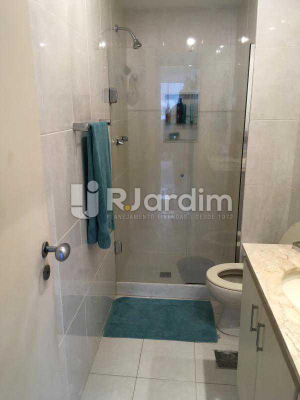 Banheiro suite - Apartamento À Venda - Lagoa - Rio de Janeiro - RJ - LAAP31945 - 18