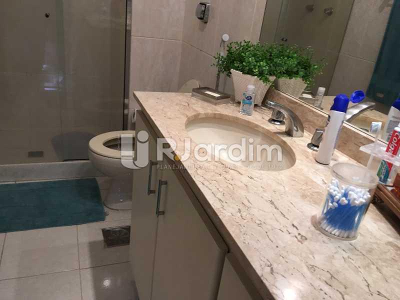 Banheiro social - Apartamento À Venda - Lagoa - Rio de Janeiro - RJ - LAAP31945 - 29