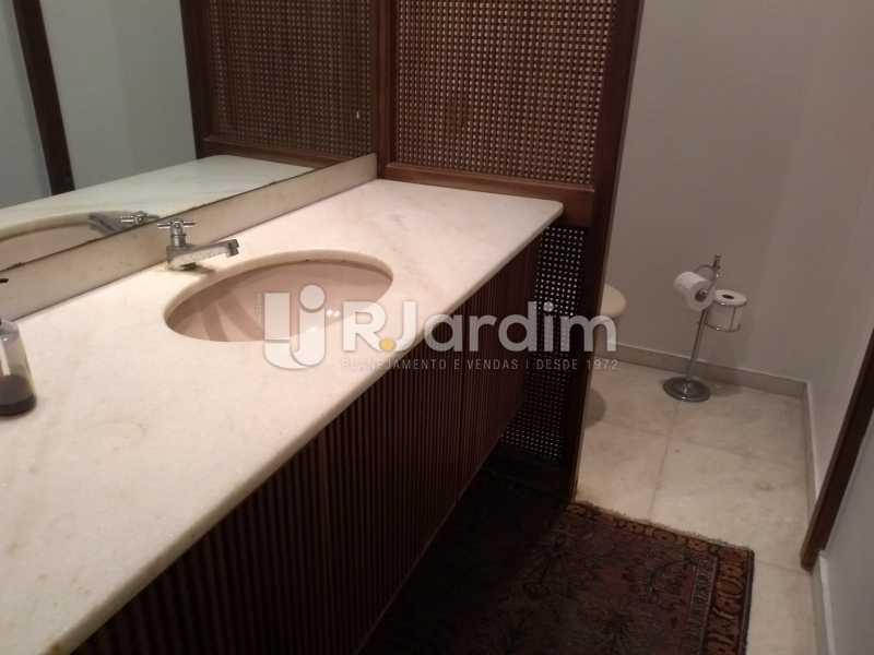 banheiro  - Compra Venda Avaliação Imóveis Apartamento Lagoa 4 Quartos - LAAP40734 - 20