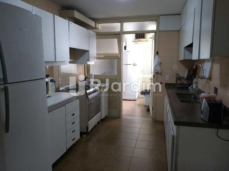 cozinha  - Compra Venda Avaliação Imóveis Apartamento Lagoa 4 Quartos - LAAP40734 - 22