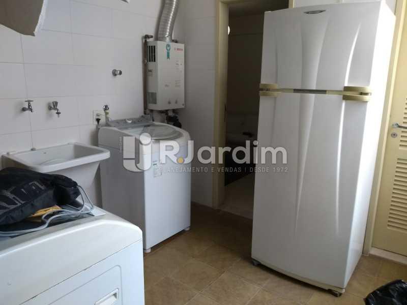 área de serviço - Compra Venda Avaliação Imóveis Apartamento Lagoa 4 Quartos - LAAP40734 - 24