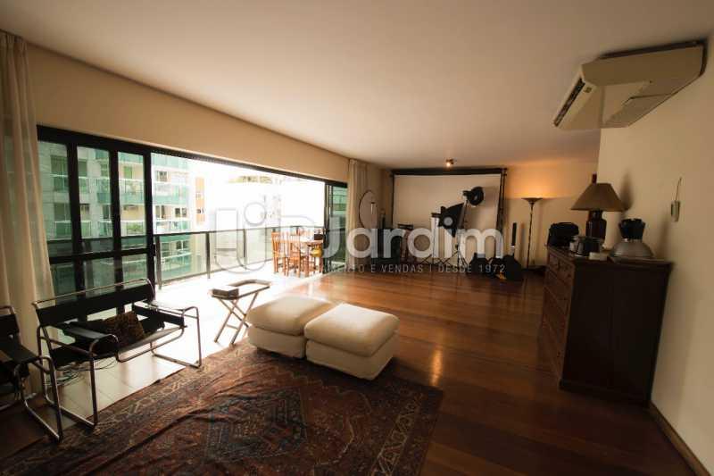 Salão  - Compra Venda Avaliação Imóveis Apartamento Lagoa 4 Quartos - LAAP40734 - 7