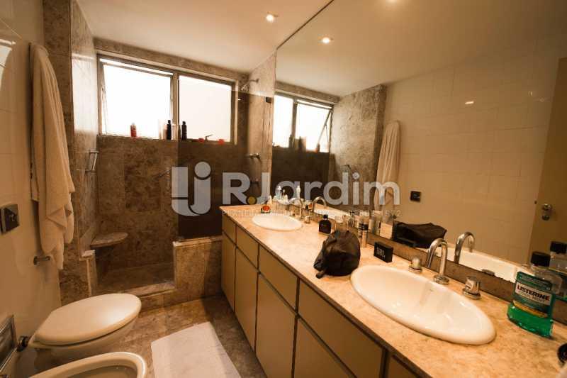 banheiro  - Compra Venda Avaliação Imóveis Apartamento Lagoa 4 Quartos - LAAP40734 - 21